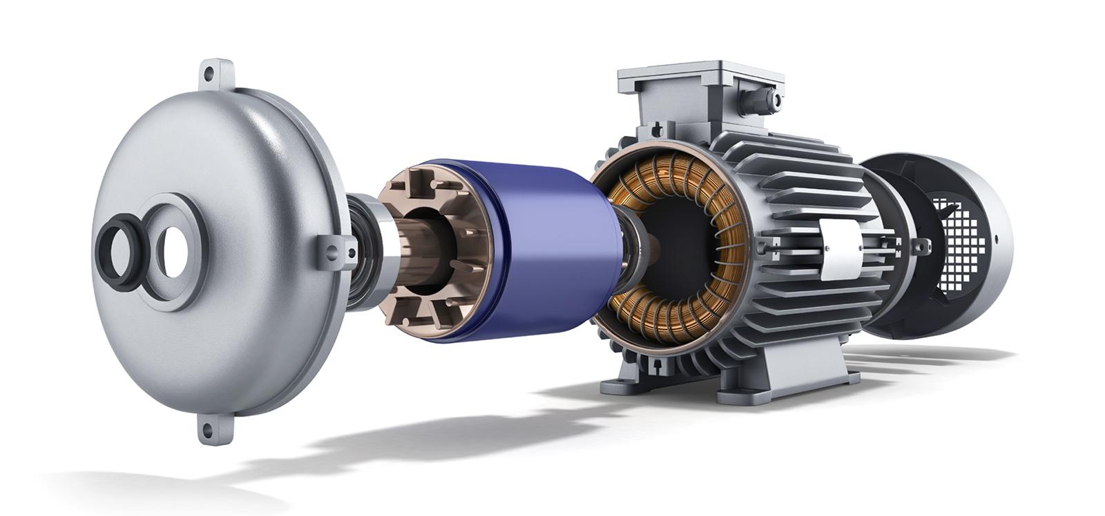 Induktionsmotor | Synchronmotor | BLDC …